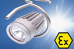 Explosion-proof cable hand lamp